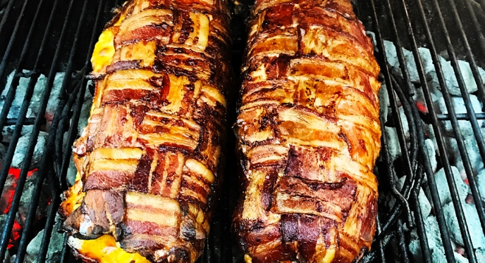 Start Your Weekend Off with This Bacon Breakfast Fatty
