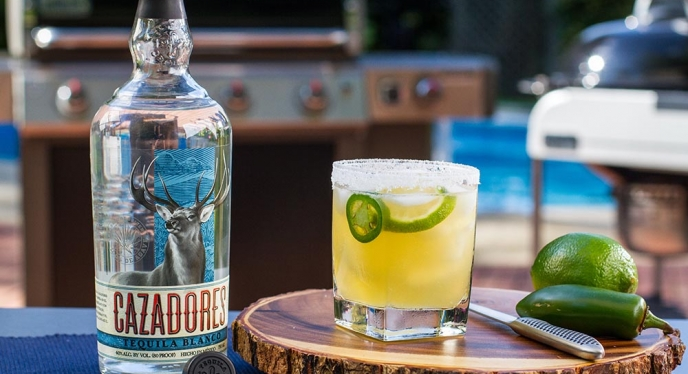 The Cazadores Jalapeno Margarita