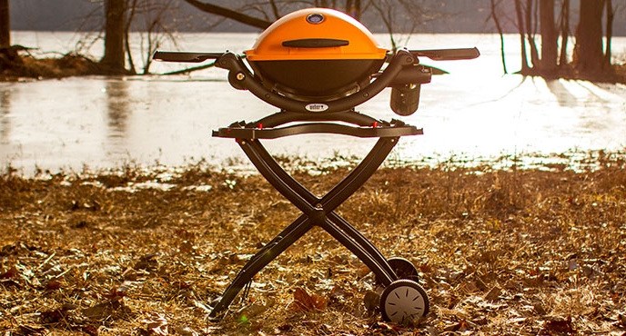 The Perfect Marriage: Camping and Grilling