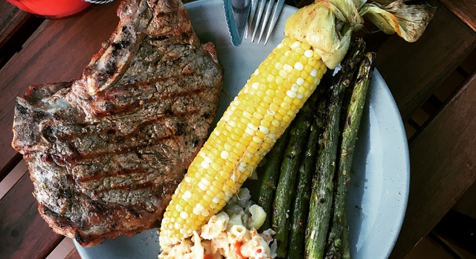 The Perfect Weekend Summer Dinner