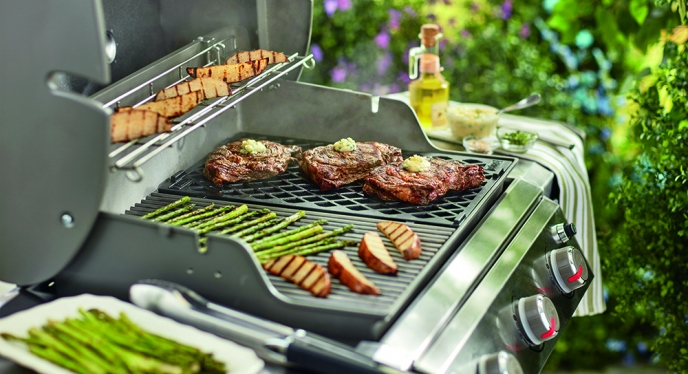 Get Grillmaster Grill Marks with the Genesis II Sear Grate