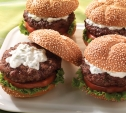 Image of Lamb Burgers with Mint and Tzatziki
