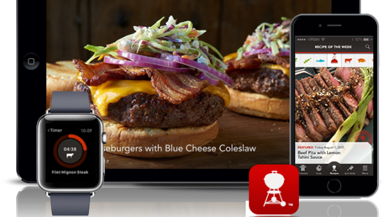 NEW Weber Grills iPhone App