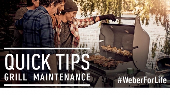 Quick Tips for Cleaning and Maintaining Your Grill All Year Long