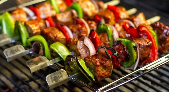 Grilling an Easier Kabob