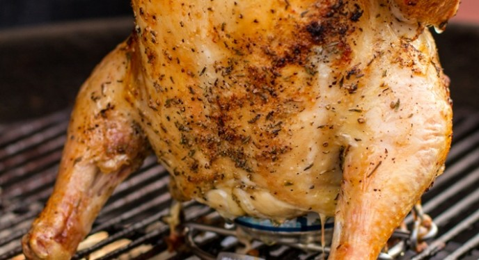 Grilling Beer Can Chicken, the Safe and Easy Way