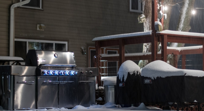 Winter Weber Grilling: It's a 365 Thing.