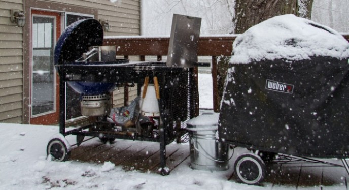 Grilling in the Elements