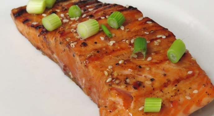 Spicy Sesame Salmon