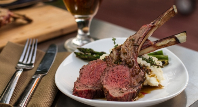 Fine Dining Grilling: Rack of Lamb
