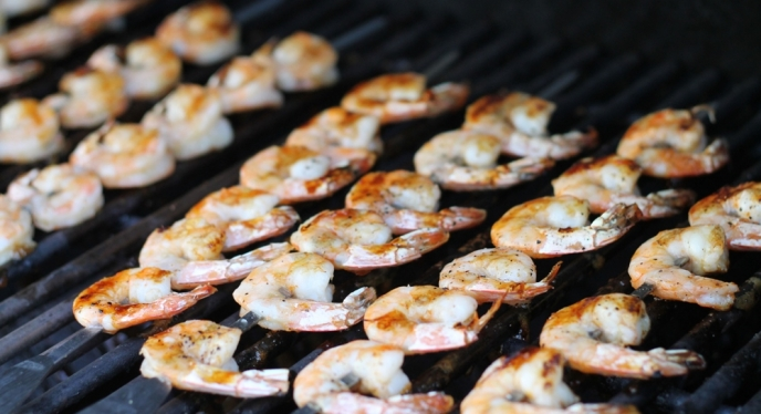 Sweet And Spicy Glazed Shrimp | Weber.com