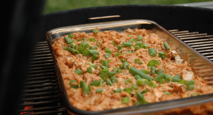 BBQ Chicken Dip For Tailgating