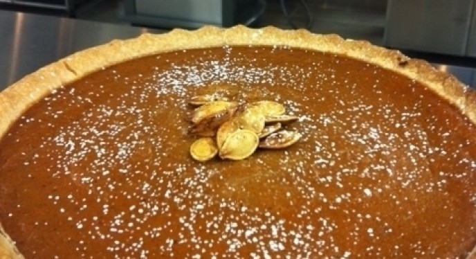 Pumpkin Pie...Hot Off The Grill