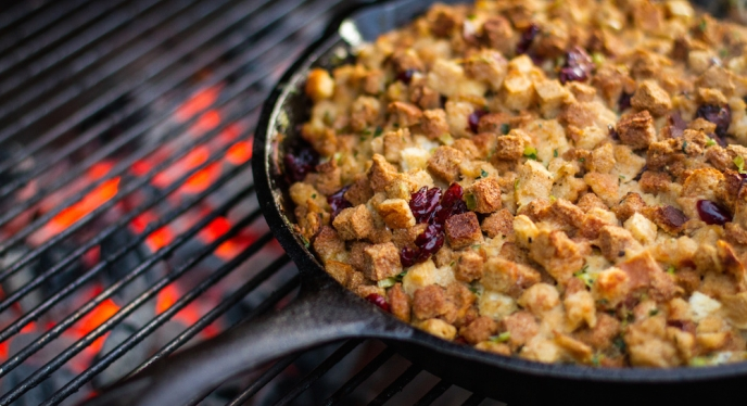 Grilled Stout Stuffing