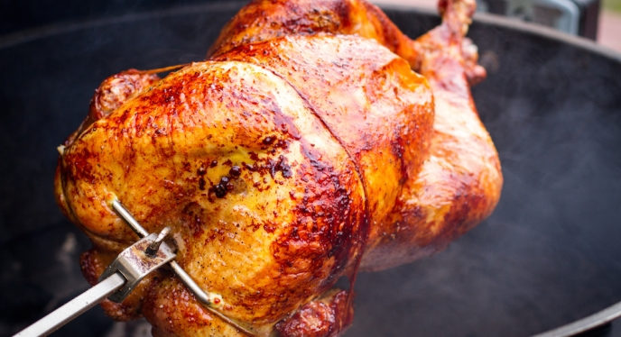 How To Rotisserie A Turkey