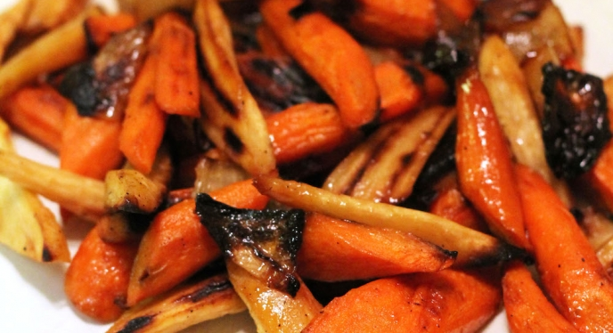 Cider-Glazed Veggies