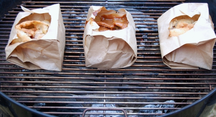 My Grilling Gift To You: Brown Bag Pie