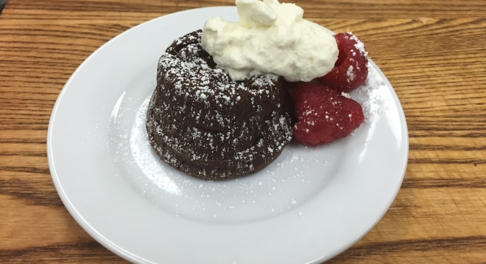 A Special Holiday Treat- Grilled Molten Chocolate Cakes