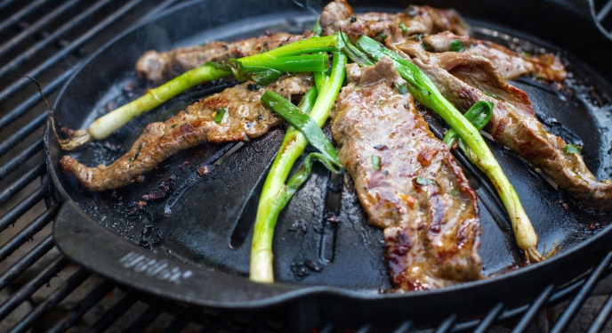 Sweet And Spicy Korean Skirt Steak