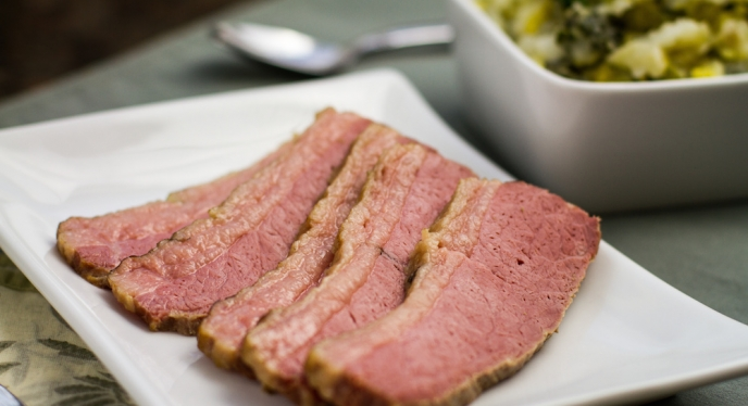 St. Patrick's Day Corned Beef Prepared On Your Weber