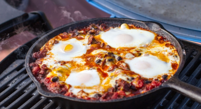 Will It Grill? Huevos Rancheros