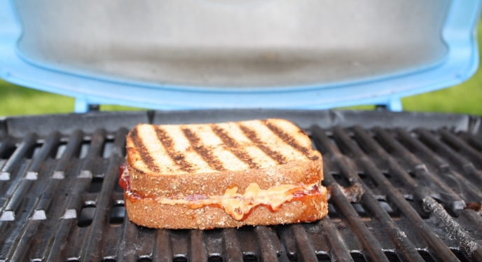 Peanut Butter & Jelly—Grilled