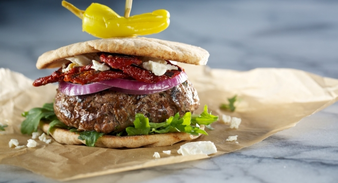 "It's Time For Your Grill To ""Meat"" Lamb With Mediterranean Style Lamb Burgers"