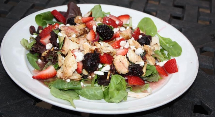 Easy Weeknight Grill Chicken Salad