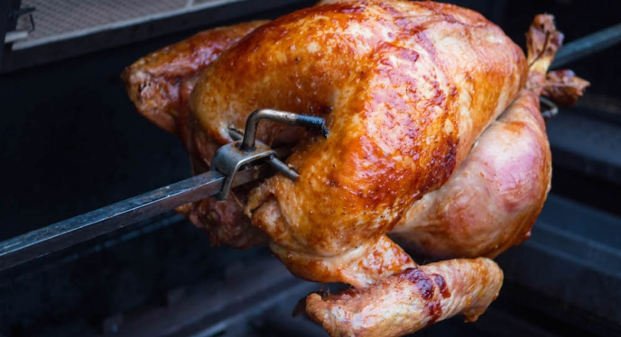 Simple Thanksgiving Rotisserie Turkey Tips With A Basic Dry Brine