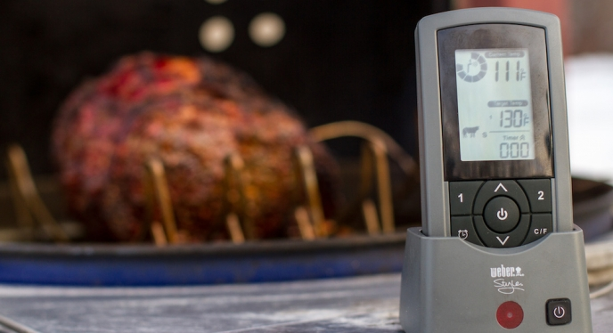 How To Use The Weber Style Wireless Thermometer