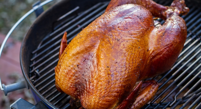 Smoked Turkey On A Kettle