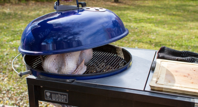 How to Cook A Turkey On A Kettle