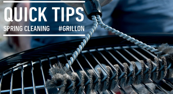 Quick Tips for Spring Cleaning Your Grill
