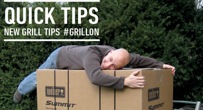 Quick Tips for Your New Grill