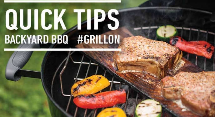 Quick Tips for Your Back Yard BBQ