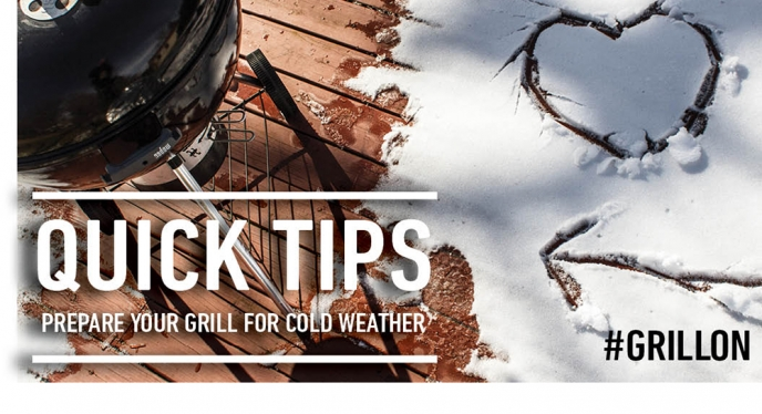 Cold Weather Grilling Tips