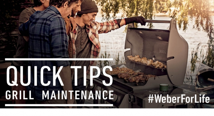 Quick Tips for Grill Maintenance and Cleaning