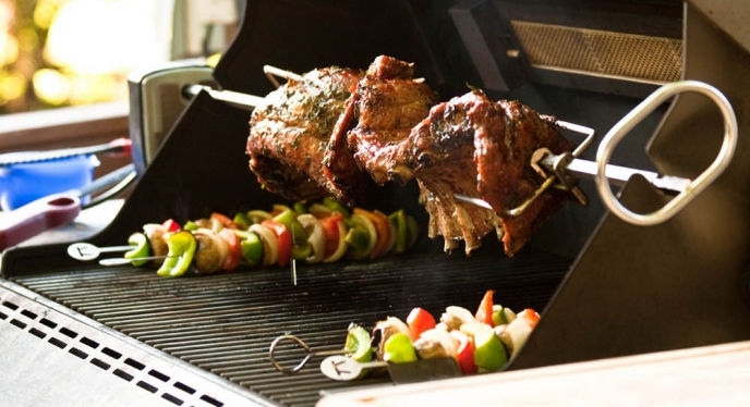 The Most Important Things to Know about the Rotisserie Burner on Your Summit Gas Grill