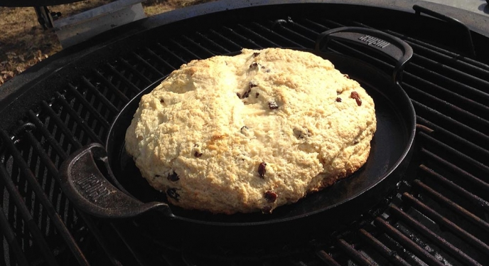 Grilled Irish Soda Bread