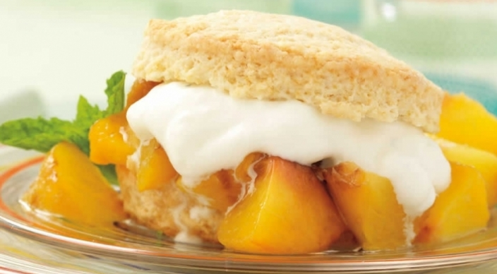 Peach Shortcakes Recipe from Weber's Way to Grill™ by Jamie ...