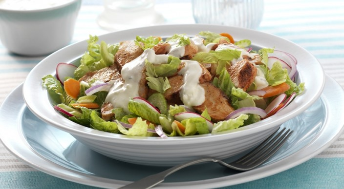 Buffalo Chicken Thighs With Celery And Blue Cheese Salad Recipes ...